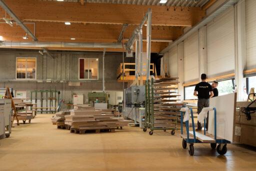Baumann küchen, produktion fabrikation schweiz